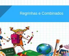 Combinados para sala de aula 2019