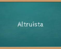 Altruísta