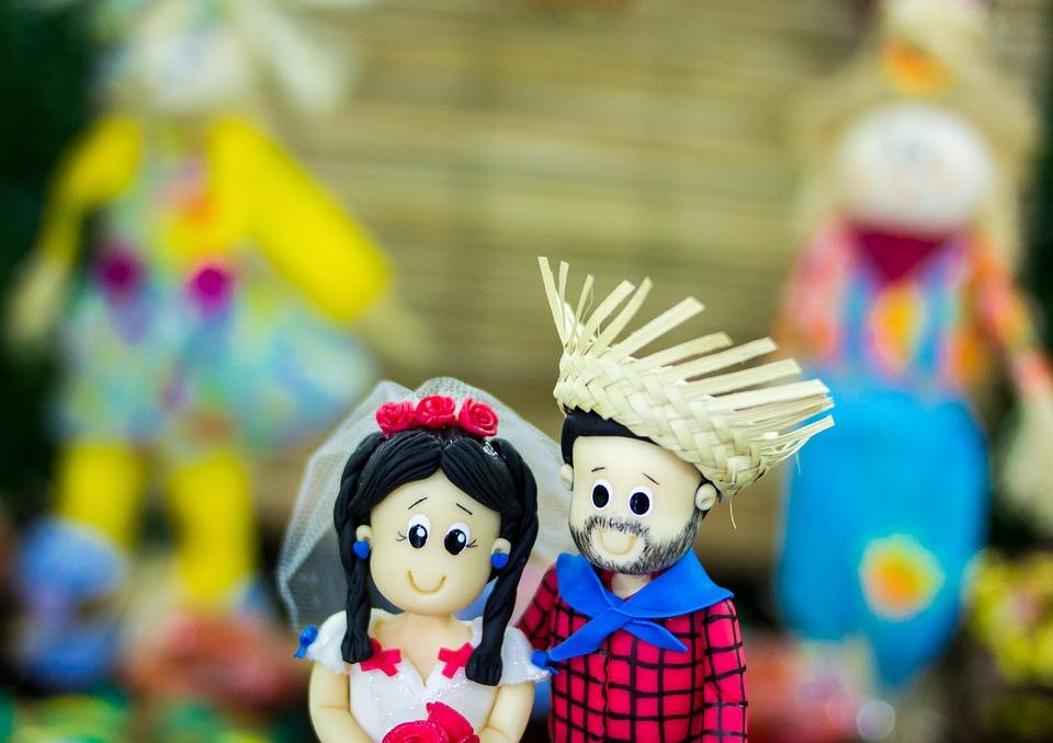Bonecos de Festa Junina