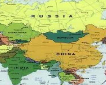 Mapa da Ásia