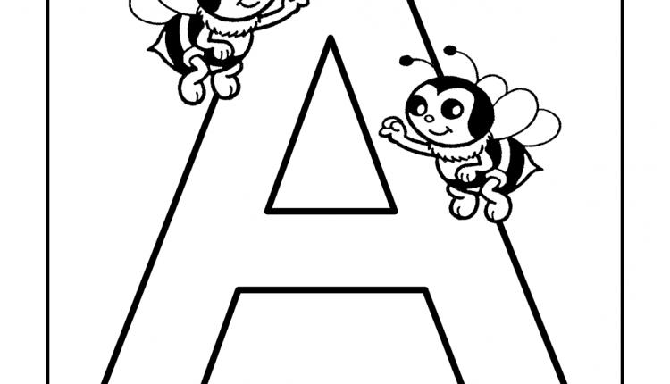 Alfabeto com animais – Letras do Alfabeto – A
