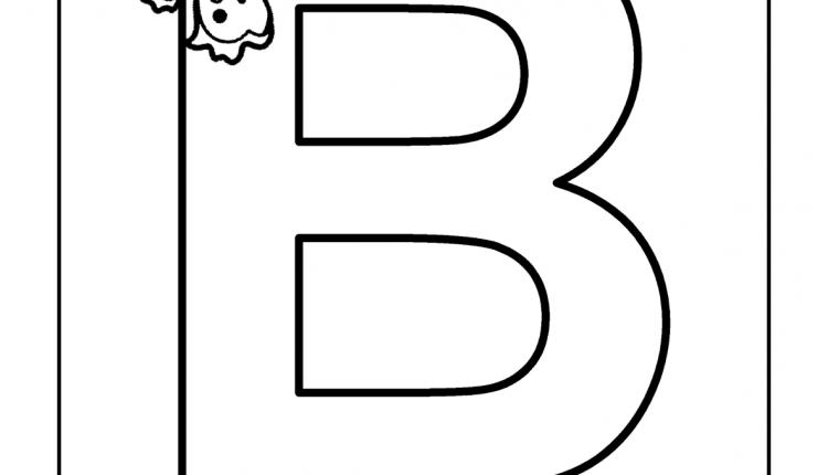 Alfabeto com animais – Letras do Alfabeto – B