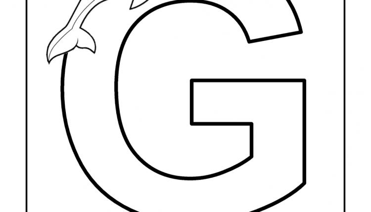 Alfabeto com animais – Letras do Alfabeto – G
