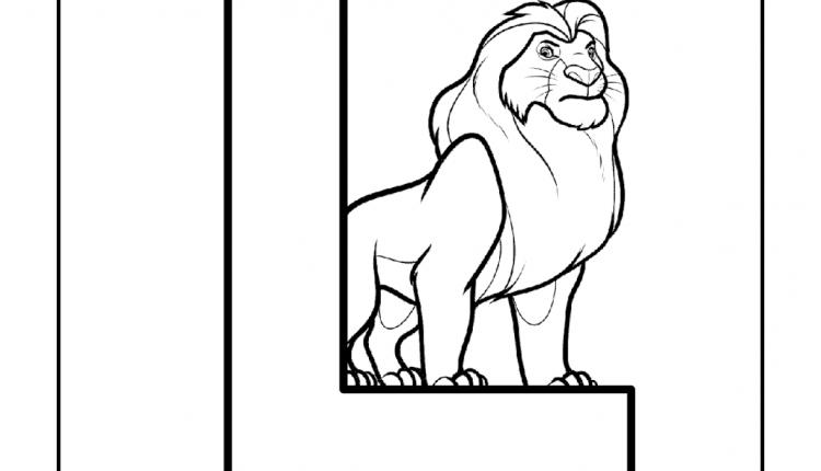 Alfabeto com animais – Letras do Alfabeto – L