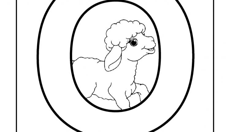 Alfabeto com animais – Letras do Alfabeto – O