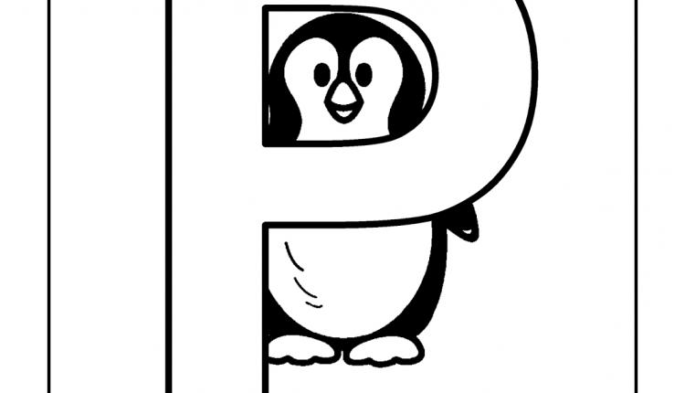 Alfabeto com animais – Letras do Alfabeto – P