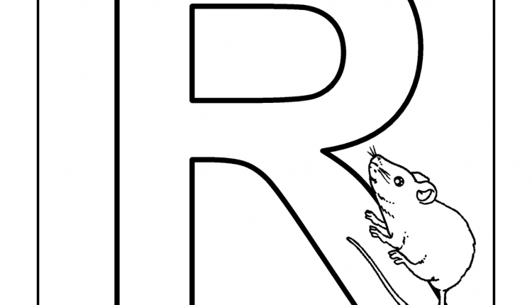 Alfabeto com animais – Letras do Alfabeto – R