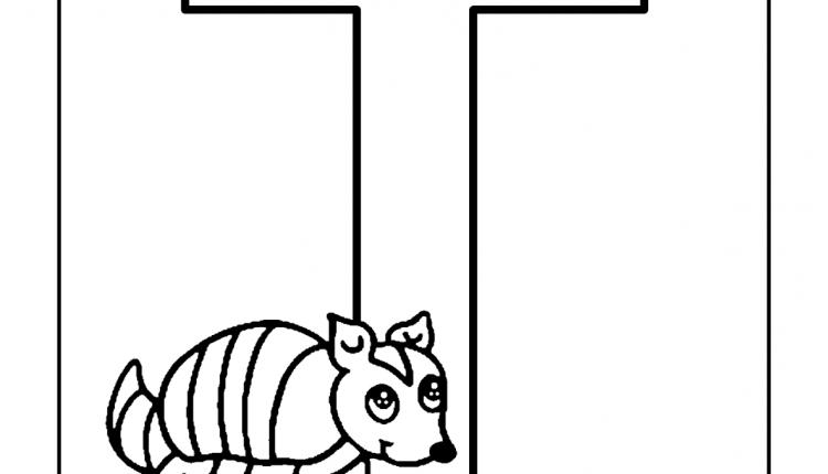 Alfabeto com animais – Letras do Alfabeto – T