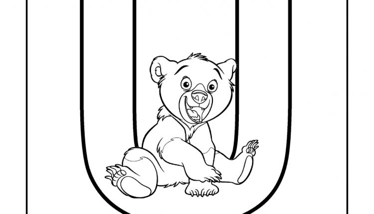 Alfabeto com animais – Letras do Alfabeto – U