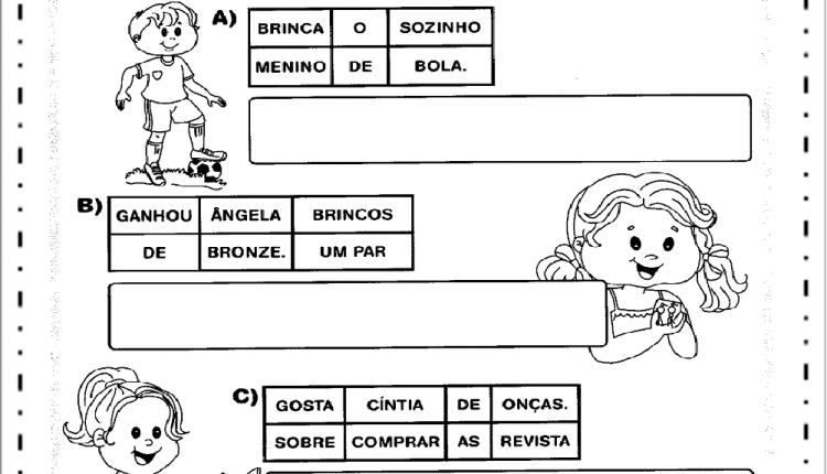 Atividades de Alfabetização com AN, EN, IN, ON e UN – Descubra