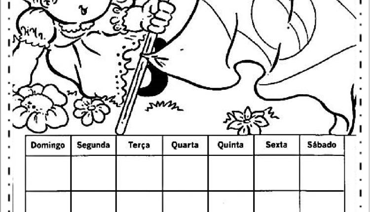 Atividades semana da pátria educação infantil – Calendário