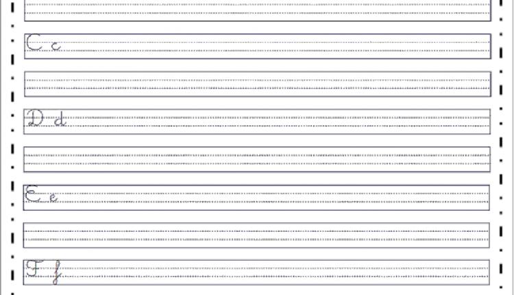 Caderno de caligrafia para adultos para imprimir