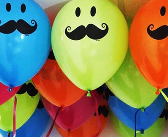 Decoração para o dia dos pais com balões