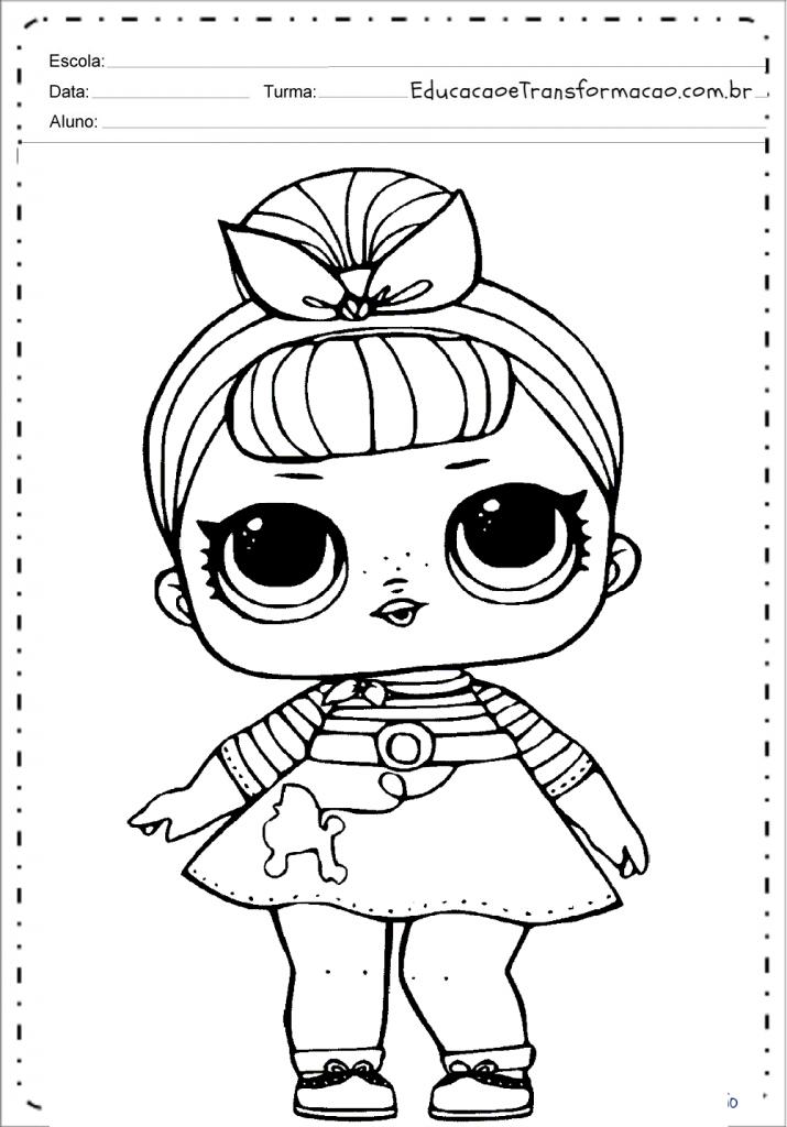 Desenhos De Lol Para Colorir E Imprimir Boneca Lol Surprise Para