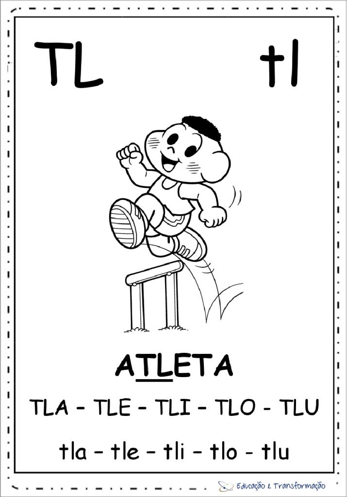 Fichas de Leitura ilustrada da Turma da Mônica para imprimir