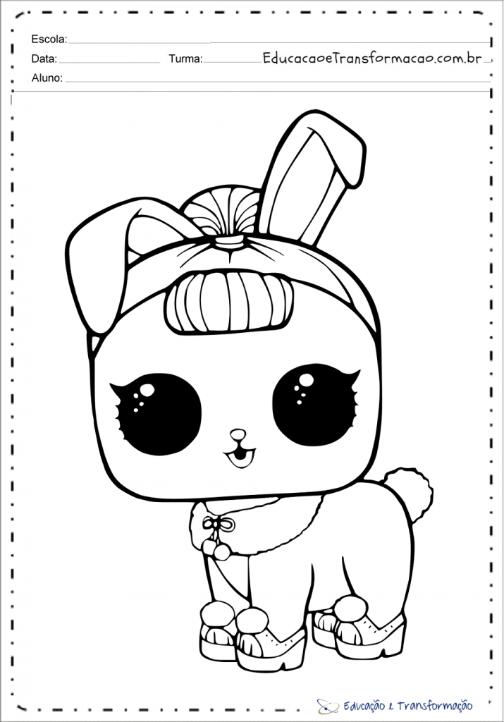 Desenhos De Lol Para Colorir E Imprimir Boneca Lol