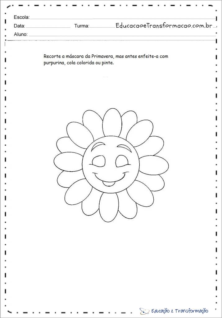 Atividades Primavera para imprimir para series iniciais