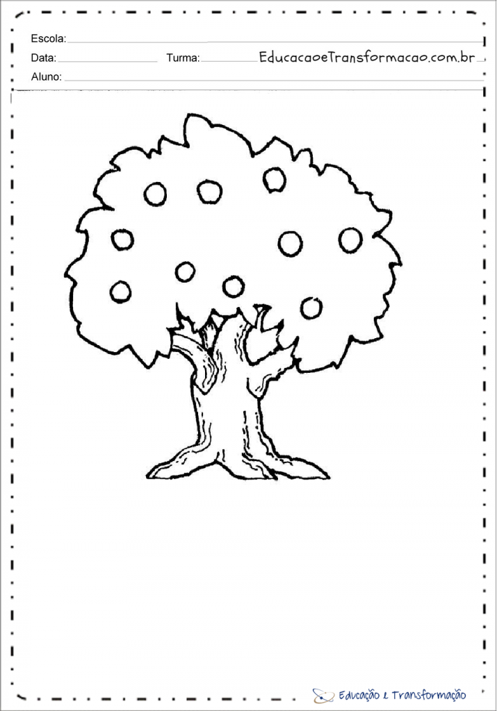 Desenhos Dia Da Arvore Para Colorir E Imprimir Desenhos De Arvores