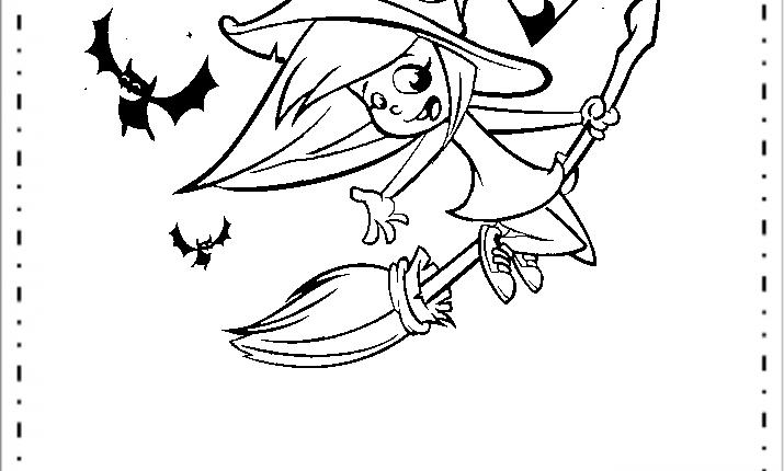 Bruxas Para Colorir Desenhos Para Imprimir Educacao E