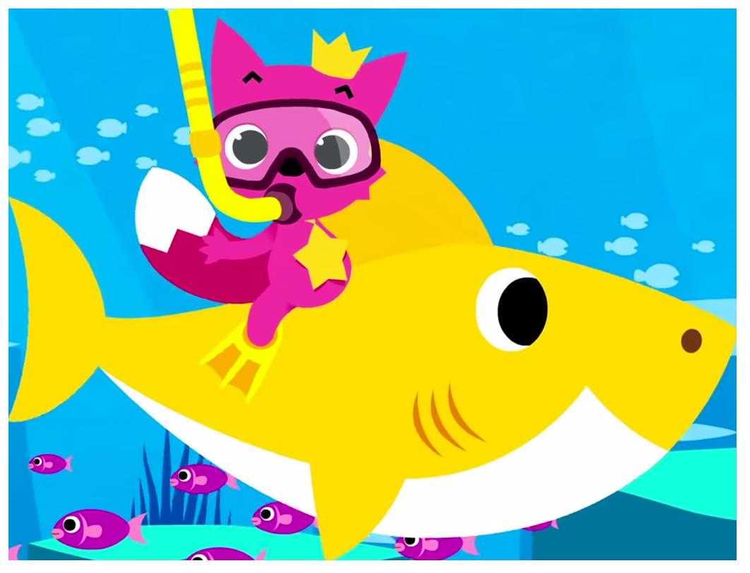 Baby Shark PNG - Galeria do Baby Shark e familia PNG